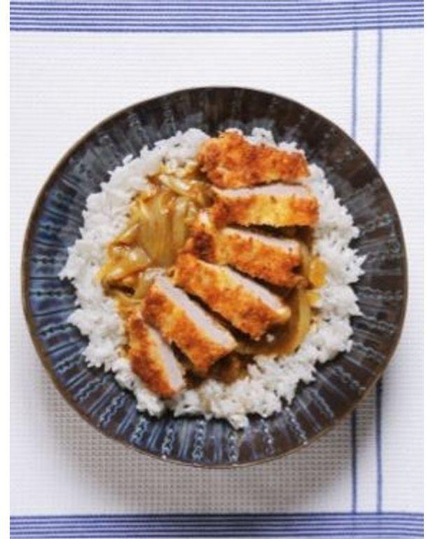 curry de porc pan comme au japon pour 4 personnes recettes elle table. Black Bedroom Furniture Sets. Home Design Ideas