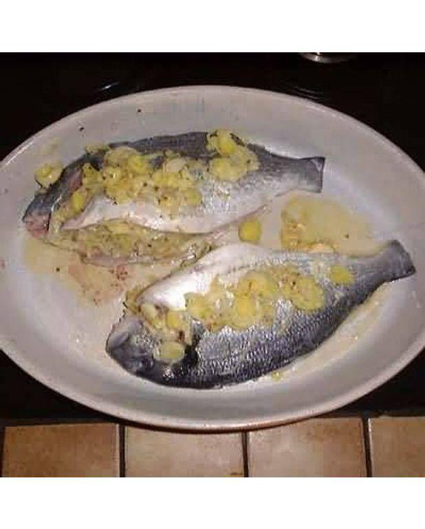 étuvée de poireaux saumon