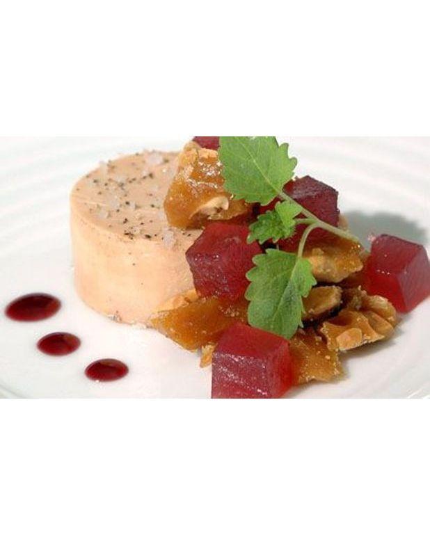 foie gras mi cuit pour 6 personnes recettes elle table. Black Bedroom Furniture Sets. Home Design Ideas