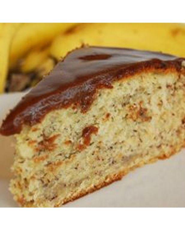 Gateau banane barre mars