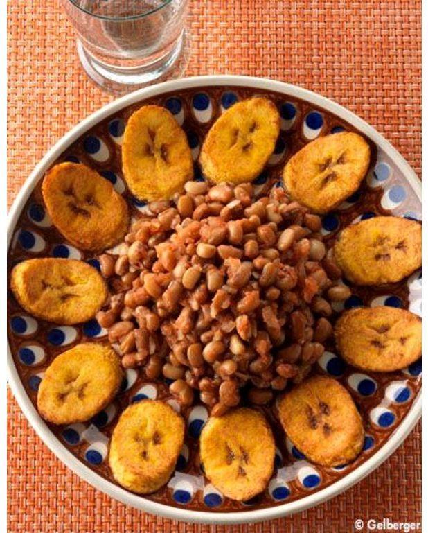 haricots à la banane plantain pour 2 personnes - recettes elle à table