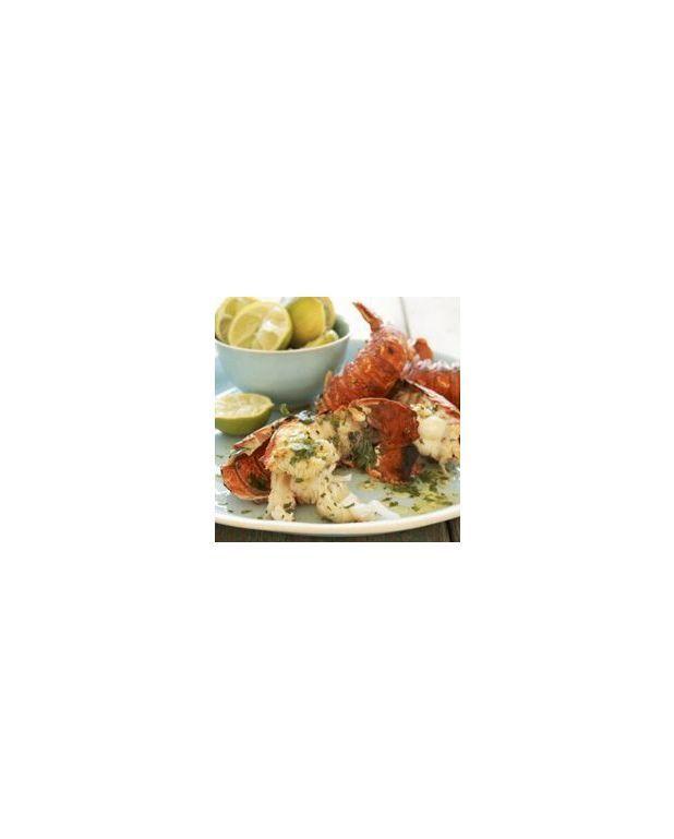 Langoustines l 39 ail grill es au bbq pour 4 personnes recettes elle table - Recettes de langoustes grillees ...