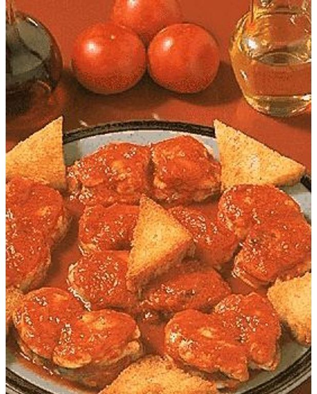 Lotte la tomate pour 4 personnes recettes elle table - Lotte a l armoricaine recette cuisine ...