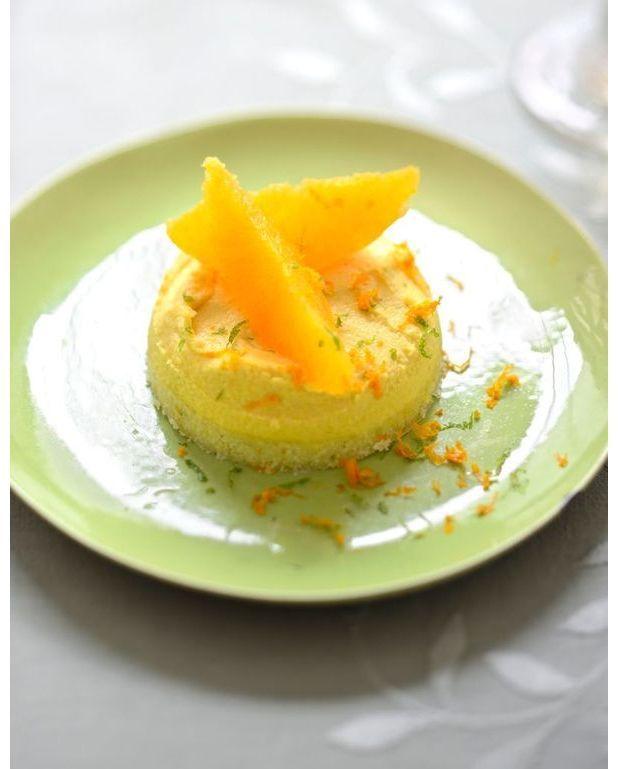 ma tarte 224 la cr 232 me d orange pour 6 personnes recettes 224 table