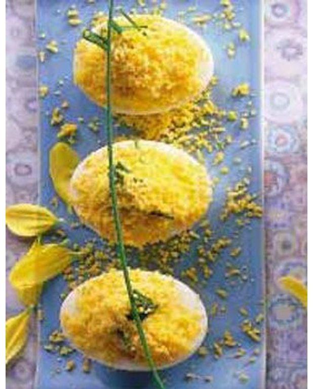 Ufs mimosa pour 6 personnes recettes elle table - Par quoi remplacer le vin jaune en cuisine ...