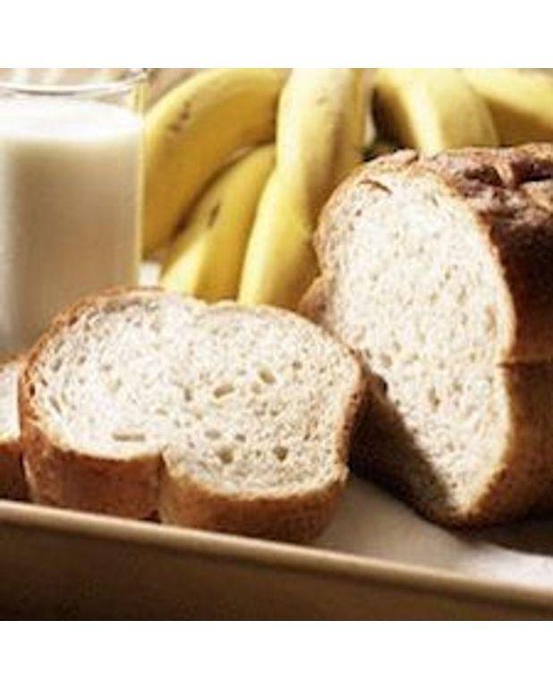 Pain aux banane sans gras