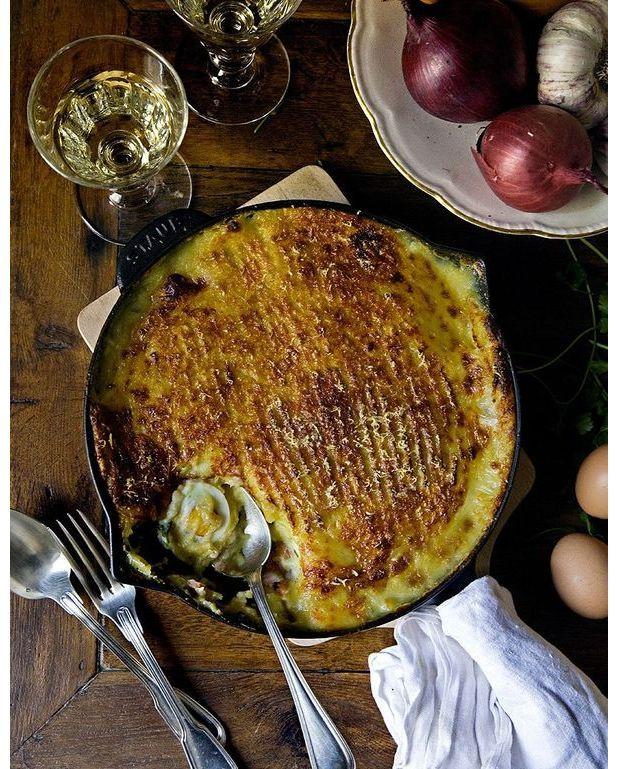 Parmentier de poisson de mimi thorisson pour 6 personnes recettes elle table - Recette de cuisine avec du poisson ...