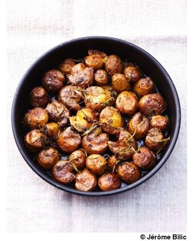 petites pommes de terre cras es pour 6 personnes recettes elle table. Black Bedroom Furniture Sets. Home Design Ideas