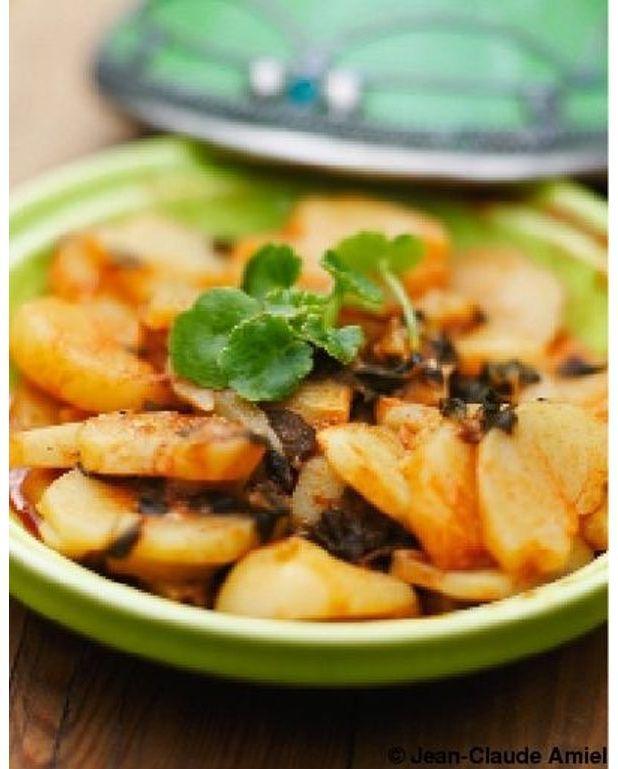 Pommes de terre et menthe nepita pour 6 personnes - Table de cuisine 6 personnes ...