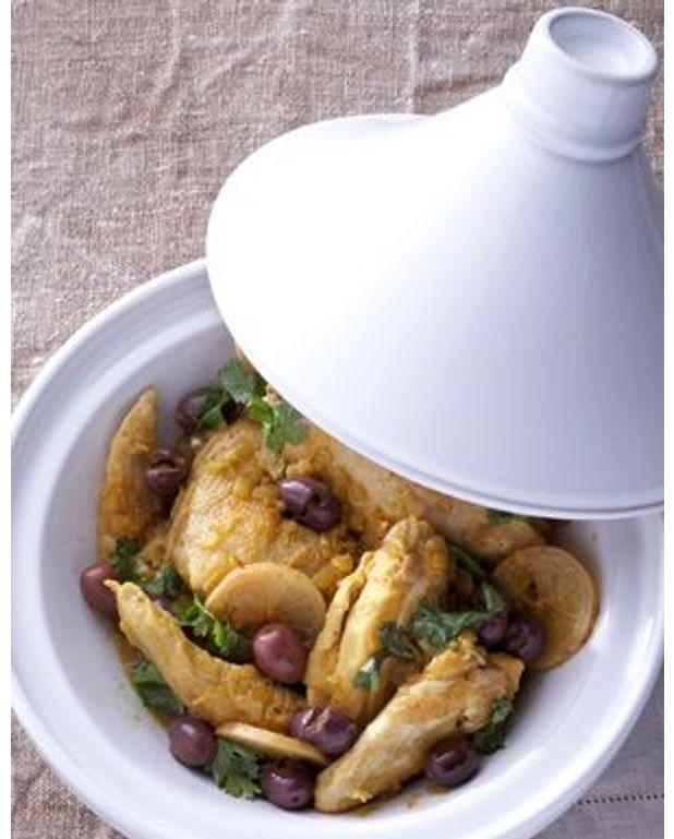 poulet citronolives pour 4 personnes recettes elle 224 table