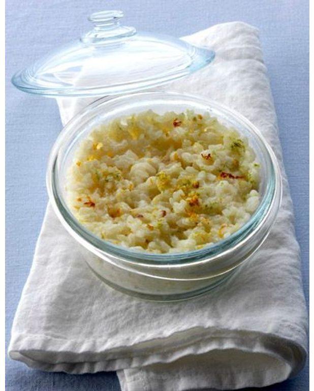 quick riz au lait et aux agrumes pour 2 personnes recettes elle table. Black Bedroom Furniture Sets. Home Design Ideas