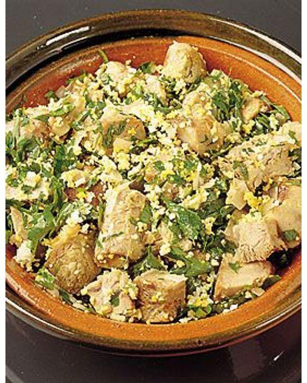 Salade au jarret de veau pour 4 personnes recettes elle - Cuisiner jarret de veau ...