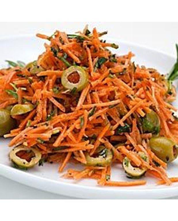 salade de carottes aux herbes pour 4 personnes recettes elle table. Black Bedroom Furniture Sets. Home Design Ideas