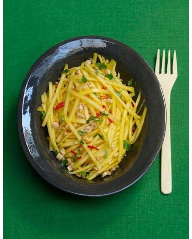 Salade de mangue verte pour 4 personnes recettes elle table - Recette salade verte ...