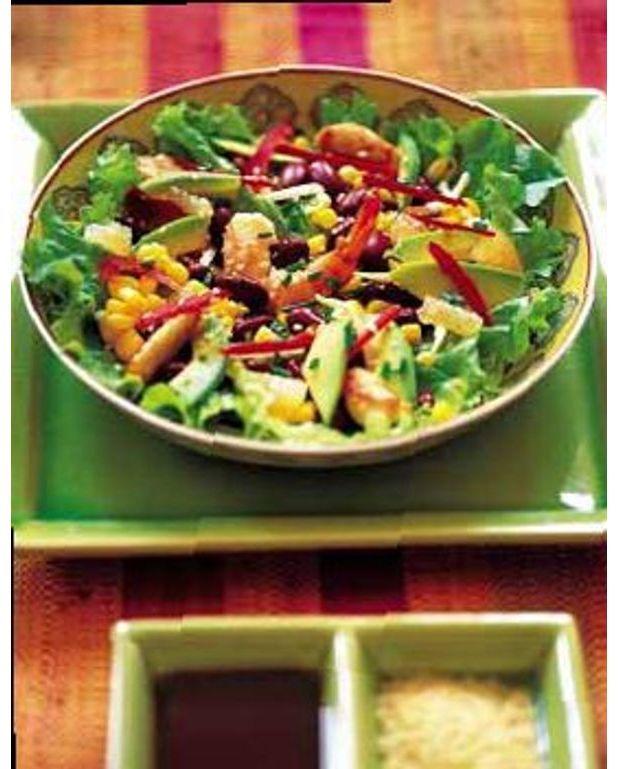 salade folle au soja