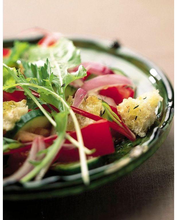 salade libanaise facile pour 4 personnes recettes elle table. Black Bedroom Furniture Sets. Home Design Ideas