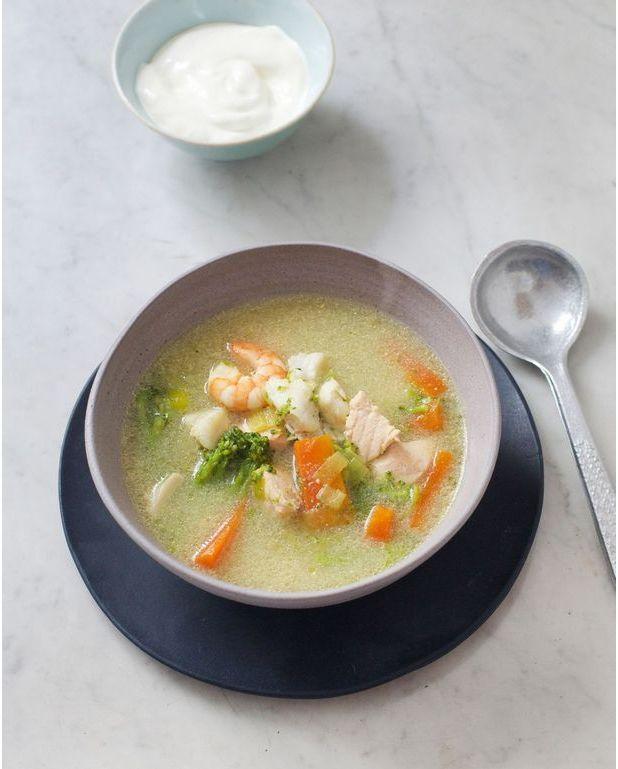 Soupe de poissons islandaise pour 4 personnes recettes elle table - Site de recettes cuisine ...