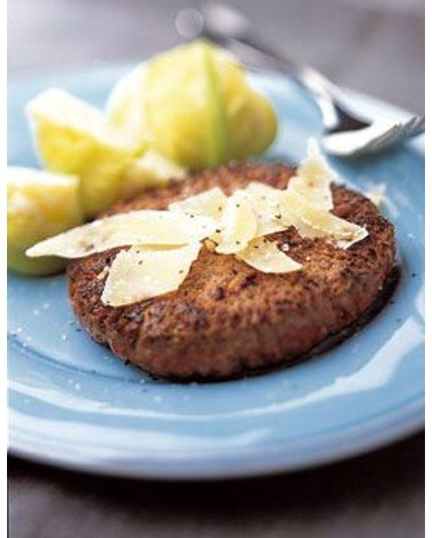 steak hach au parmesan pour 4 personnes recettes elle table. Black Bedroom Furniture Sets. Home Design Ideas