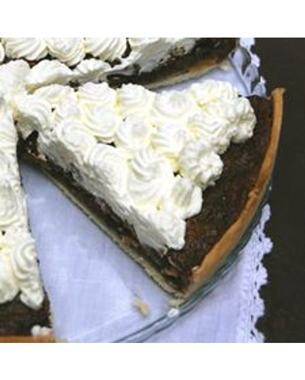 Tarte aux pacanes caf et chocolat pour 1 personne recettes elle table - Recette tarte aux chocolat ...