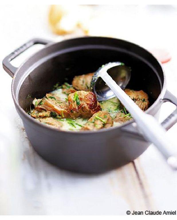 Tendron de veau au citron et romarin pour 4 personnes - Cuisiner tendron de veau ...