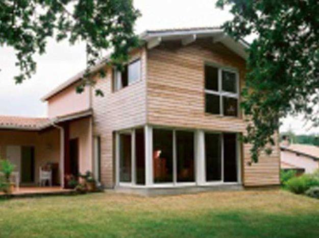 agrandir sa maison avec une extension en bois elle. Black Bedroom Furniture Sets. Home Design Ideas