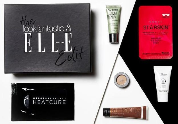 Beauty Box lance un coffret en collaboration avec Elle UK