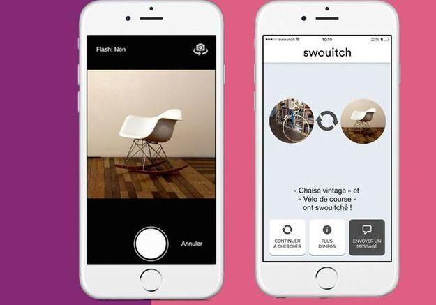 4 applications gratuites pour changer louer et vendre vos objets elle d coration. Black Bedroom Furniture Sets. Home Design Ideas