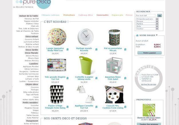 Design les boutiques en ligne ne pas manquer elle - Boutique deco vintage en ligne ...