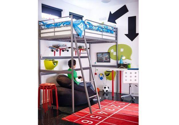 Une chambre d'enfants pour les sportifs