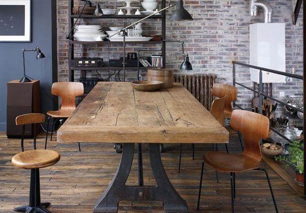 Le style vintage industriel