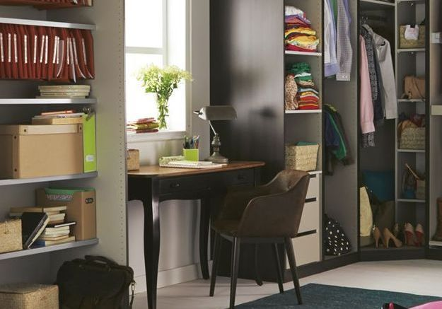 amenager bureau dans salon stunning un bureau dans un angle with amenager bureau dans salon. Black Bedroom Furniture Sets. Home Design Ideas