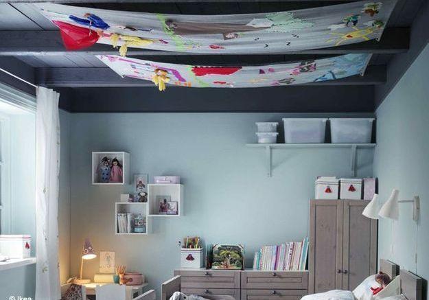 8.  Pour décorer son plafond