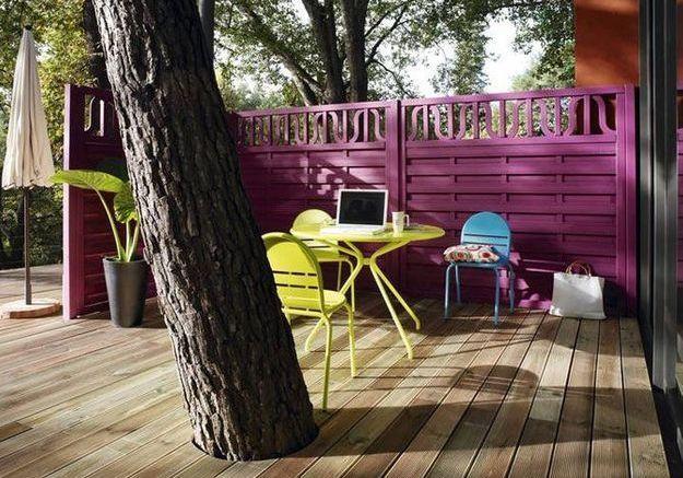 la terrasse fait le choix du bois elle d coration