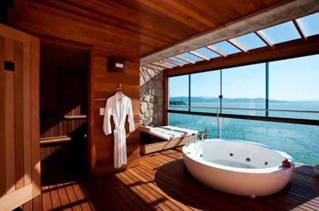 13 hôtels où la salle de bain a une vue de rêve !
