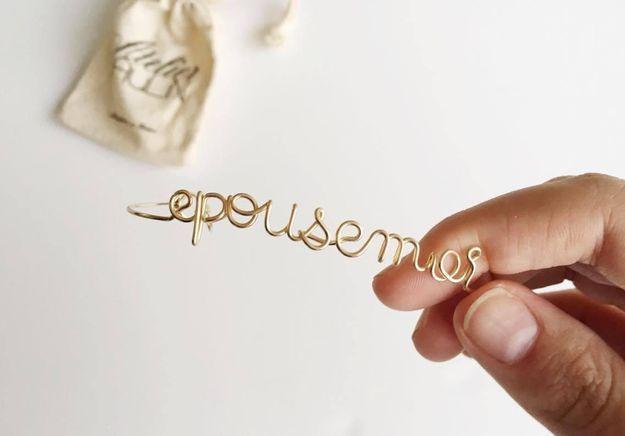 #ELLEFashionCrush : les bracelets à message de l'Atelier Paulin