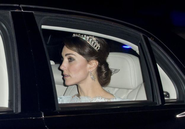 Quand Kate Middleton porte la tiare de la princesse Diana