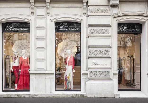 ellefashionspot la boutique parisienne de blumarine elle. Black Bedroom Furniture Sets. Home Design Ideas