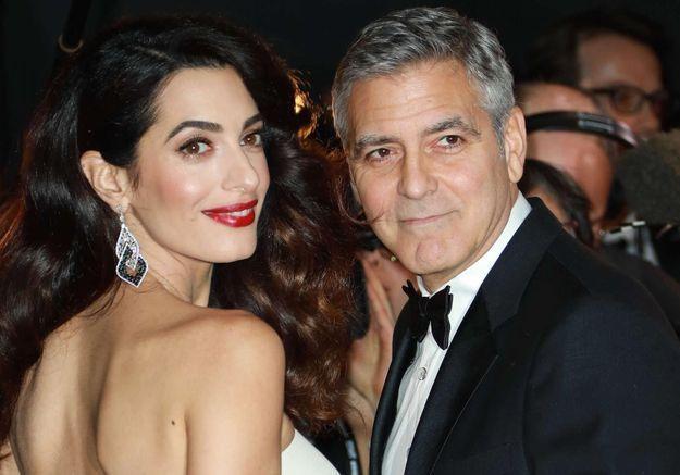 George et Amal Clooney pourraient quitter l'Angleterre pour des raisons de sécurité