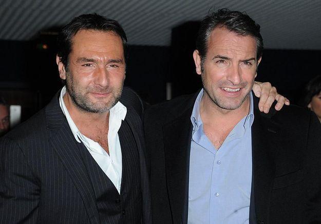 Jean dujardin et gilles lellouche devenus copains gr ce for Frere de jean dujardin
