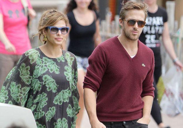 Ryan gosling et eva mendes leur deuxi me b b est n elle - Laurent bignolas et son epouse ...