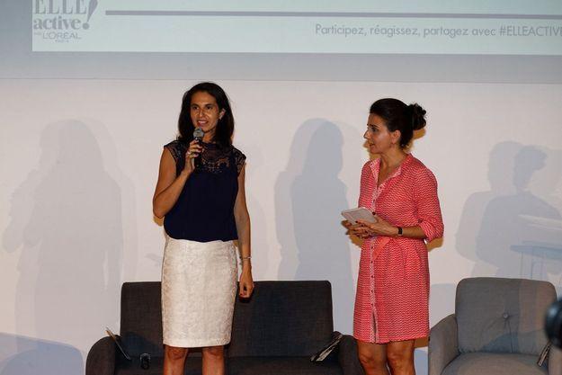 Myriam Bencharaa et Anne-Cécile Sarfati