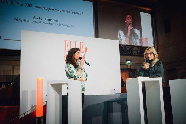 Axelle Tessandier et Katell Pouliquen, rédactrice en chef à ELLE