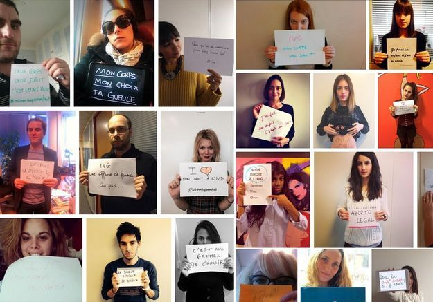 #IVGmoncorpsmondroit : mobilisez-vous pour le droit à l'IVG