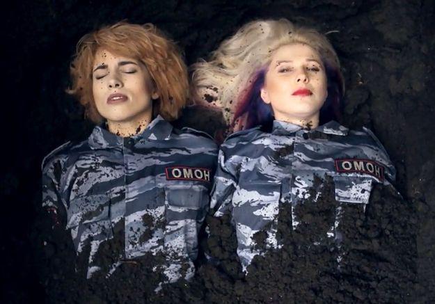 Pussy Riot : une chanson pour dénoncer les violences policières