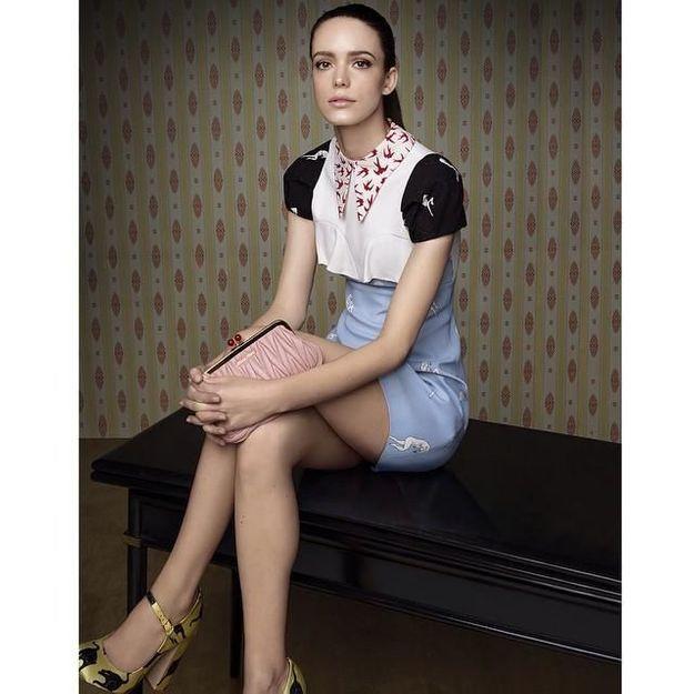 Stacy Martin, égérie du premier parfum Miu Miu