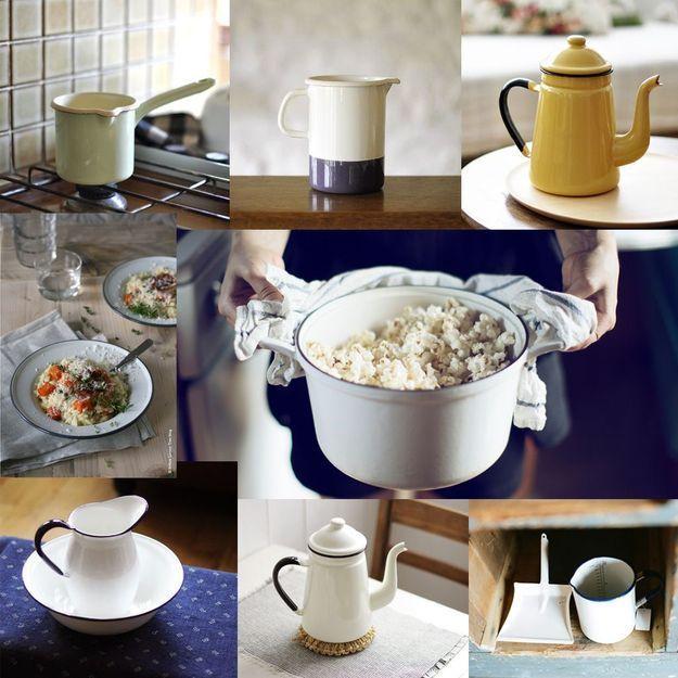 Doit-on vraiment succomber… à la vaisselle en émail ?