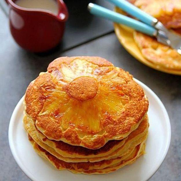 Comment faire des upside down pancakes l 39 ananas elle table - Quand commence les soldes d ete 2017 ...