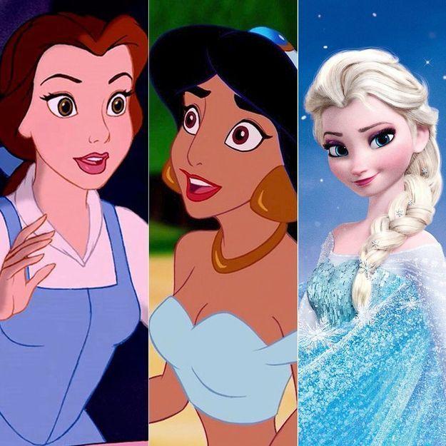 Disney on sait pourquoi toutes les h ro nes portent du for Les nains portent quoi