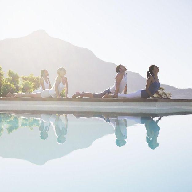 Et si on se mettait à l'aqua yoga ?