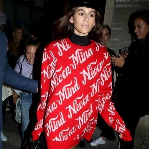 Après Bella Hadid, Kaïa Gerber ne quitte plus ces chaussures à moins de 70 €